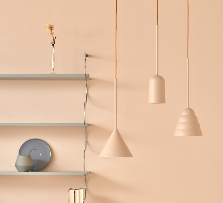 Figura cone julia mulling et niklas jessen suspension pendant light  schneid figura cone beige  design signed nedgis 66029 product