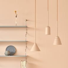 Figura cone julia mulling et niklas jessen suspension pendant light  schneid figura cone beige  design signed nedgis 66029 thumb