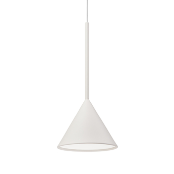 Suspension figura cone blanc o20cm h45cm schneid normal