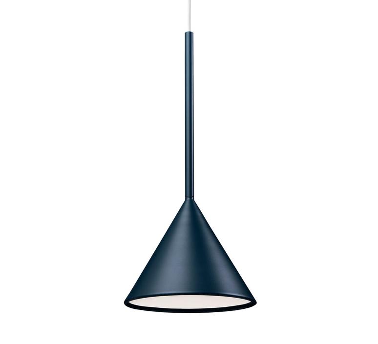 Figura cone julia mulling et niklas jessen suspension pendant light  schneid figura cone bleu  design signed nedgis 66019 product