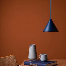 Figura cone julia mulling et niklas jessen suspension pendant light  schneid figura cone bleu  design signed nedgis 66376 thumb