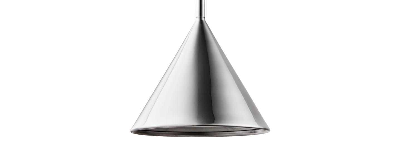 Suspension figura cone chrome o20cm h45cm schneid normal