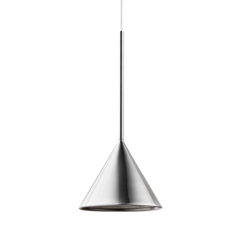 Suspension figura cone chrome o20cm h45cm schneid normal
