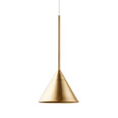 Figura cone julia mulling et niklas jessen suspension pendant light  schneid figura cone laiton  design signed nedgis 66026 thumb