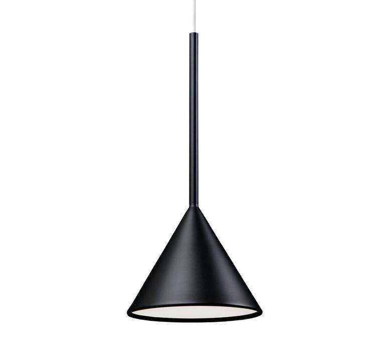 Figura cone julia mulling et niklas jessen suspension pendant light  schneid figura cone noir  design signed nedgis 66020 product