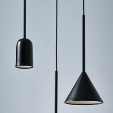 Figura cone julia mulling et niklas jessen suspension pendant light  schneid figura cone noir  design signed nedgis 66037 thumb