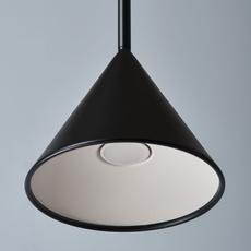 Figura cone julia mulling et niklas jessen suspension pendant light  schneid figura cone noir  design signed nedgis 66038 thumb