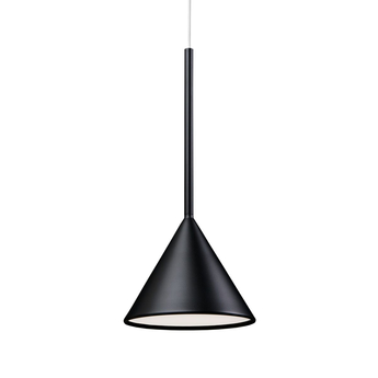 Suspension figura cone noir o20cm h45cm schneid normal