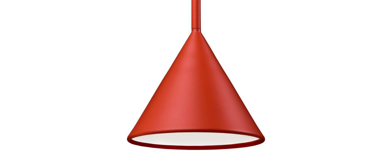 Suspension figura cone orange o20cm h45cm schneid normal