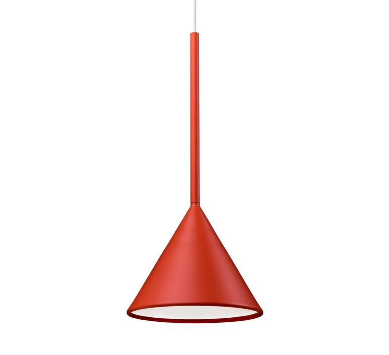 Figura cone julia mulling et niklas jessen suspension pendant light  schneid figura cone orange  design signed nedgis 66023 product