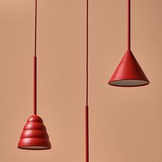 Figura cone julia mulling et niklas jessen suspension pendant light  schneid figura cone orange  design signed nedgis 66031 thumb