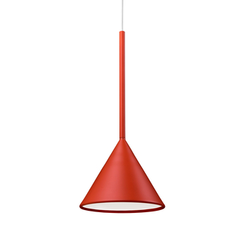 Suspension figura cone orange o20cm h45cm schneid normal