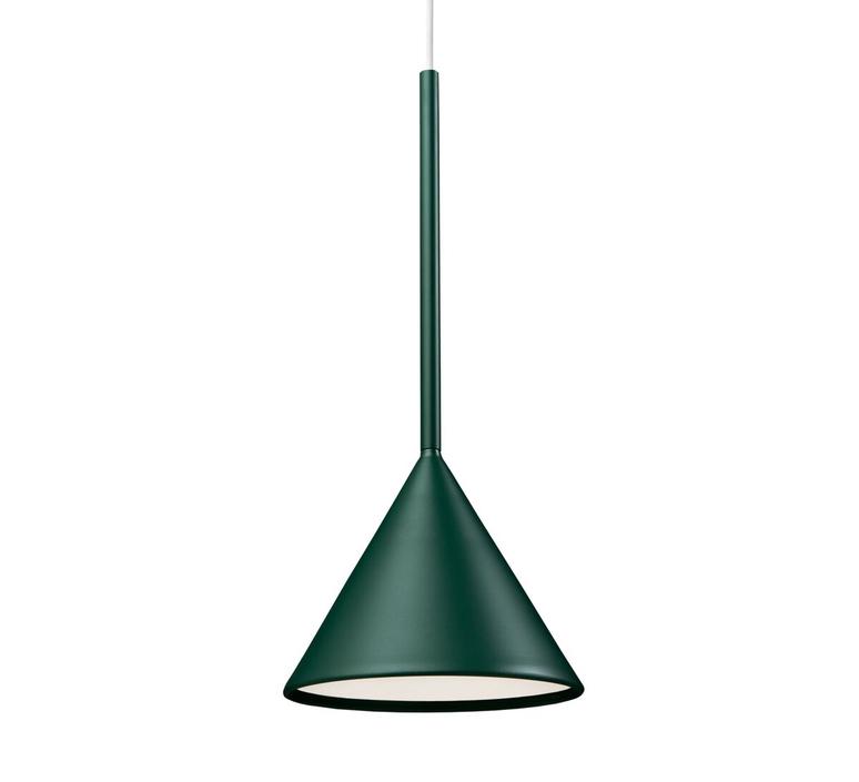 Figura cone julia mulling et niklas jessen suspension pendant light  schneid figura cone vert  design signed nedgis 66022 product