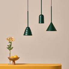 Figura cone julia mulling et niklas jessen suspension pendant light  schneid figura cone vert  design signed nedgis 66030 thumb
