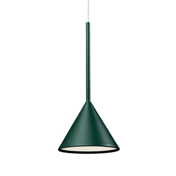 Suspension figura cone vert o20cm h45cm schneid normal