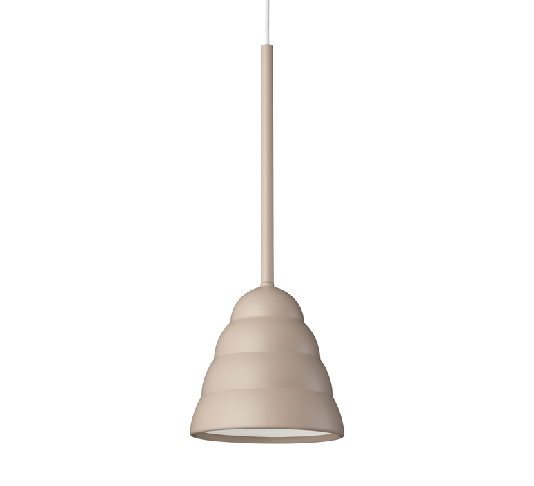 Figura stream julia mulling et niklas jessen suspension pendant light  schneid figura stream beige  design signed nedgis 65977 product