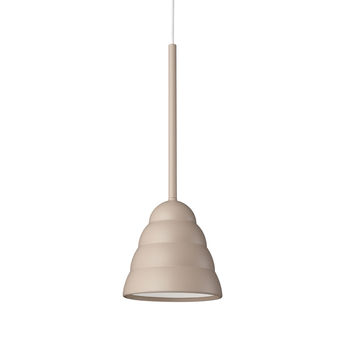 Suspension figura stream beige o16 5cm h45cm schneid normal