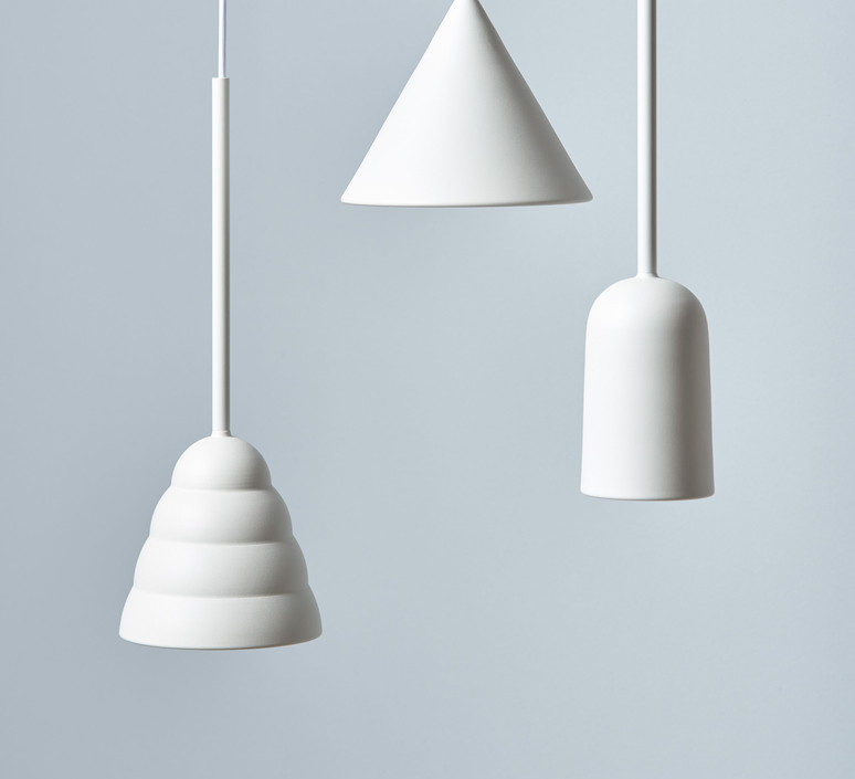 Figura stream julia mulling et niklas jessen suspension pendant light  schneid figura stream blanc  design signed nedgis 65990 product