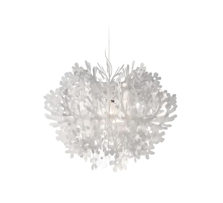 Fiorella nigel coastes suspension pendant light  slamp fio014sos0000w  design signed 45998 product