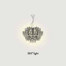 Fiorella nigel coastes suspension pendant light  slamp fio014sos0000w  design signed 45999 thumb