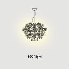 Fiorella mini nigel coastes suspension pendant light  slamp fio14sos0002w 000  design signed 46328 thumb