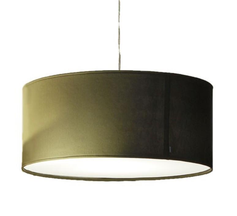 Suspension fit large gris souris 80cm innermost for Suspension luminaire gris