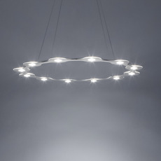 Flat ring 12 villa tosca suspension pendant light  lumen center italia flar1217227t  design signed 52738 thumb