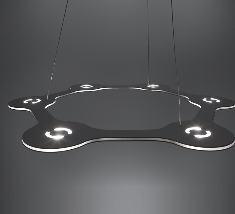 Flat ring 6 villa tosca suspension pendant light  lumen center italia flar617227t  design signed 52717 product