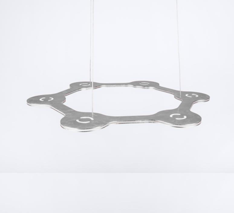 Flat ring 6 villa tosca suspension pendant light  lumen center italia flar613127t  design signed 52726 product