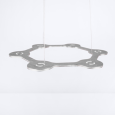Flat ring 6 villa tosca suspension pendant light  lumen center italia flar613127t  design signed 52726 thumb