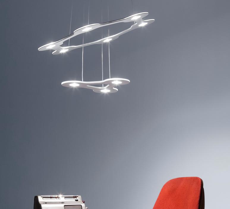 Flat saturn 1 villa tosca suspension pendant light  lumen center italia flas117227t  design signed 52751 product