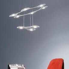 Flat saturn 1 villa tosca suspension pendant light  lumen center italia flas117227t  design signed 52751 thumb