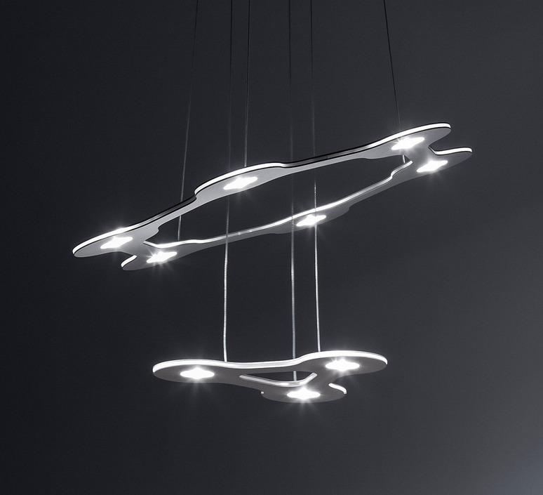 Flat saturn 1 villa tosca suspension pendant light  lumen center italia flas117227t  design signed 52752 product
