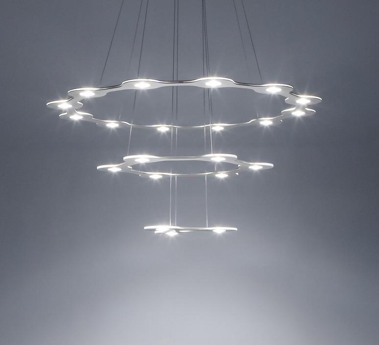 Flat saturn 3 villa tosca suspension pendant light  lumen center italia flas317227t  design signed 52785 product