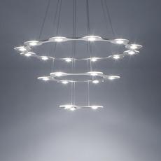 Flat saturn 3 villa tosca suspension pendant light  lumen center italia flas317227t  design signed 52785 thumb