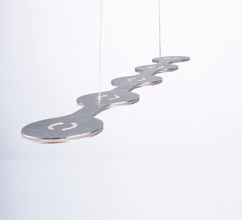 Flat triac 5 villa tosca suspension pendant light  lumen center italia fla0513127t  design signed 52678 product