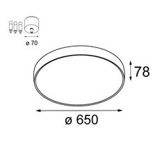Flatmoon 650 down studio modular suspension pendant light  modular 13304509 11061909  design signed nedgis 124641 thumb