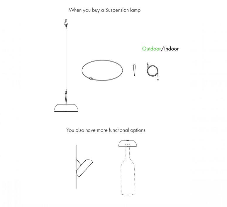 Float mario alessiani suspension pendant light  axolight spfloatxneneled  design signed nedgis 92667 product
