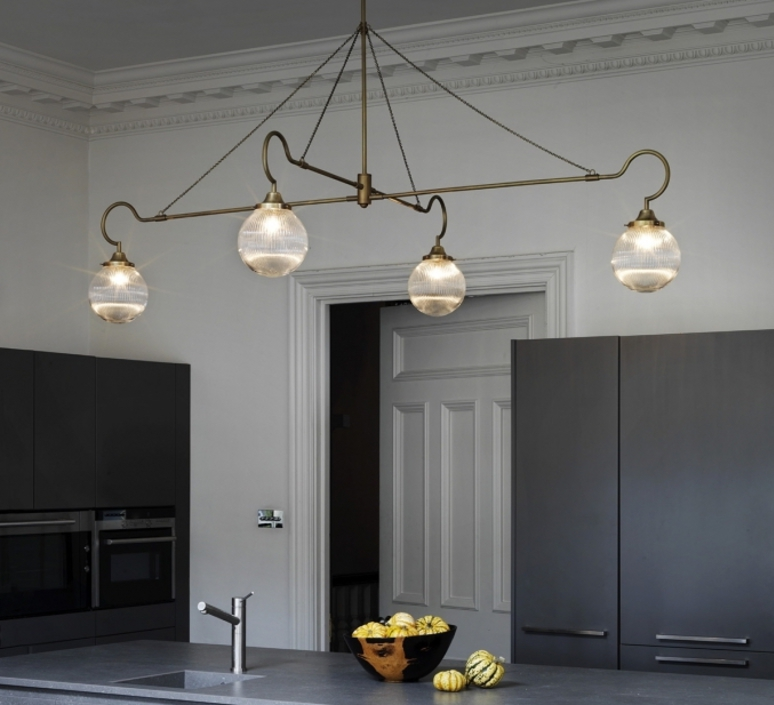 Floren 4 bras chris et clare turner suspension pendant light  cto lighting cto 01 075 0002  design signed 48310 product