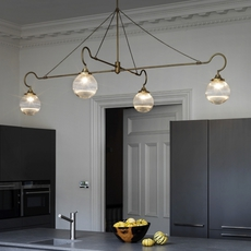 Floren 4 bras chris et clare turner suspension pendant light  cto lighting cto 01 075 0002  design signed 48310 thumb