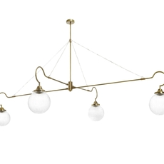 Floren 4 bras chris et clare turner suspension pendant light  cto lighting cto 01 075 0002  design signed 48311 thumb