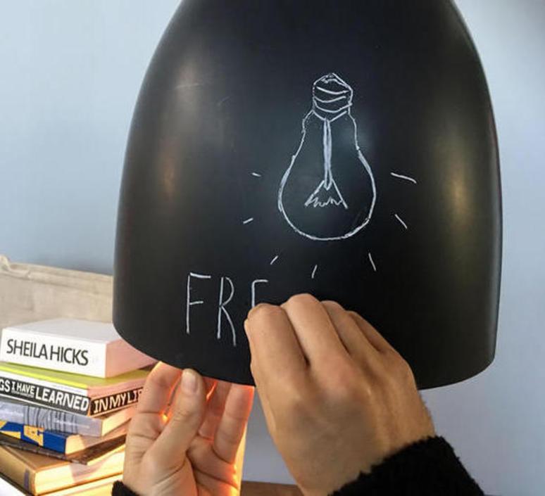 Flower s lavagna  suspension pendant light  in es artdesign in es070017n b  design signed 38674 product