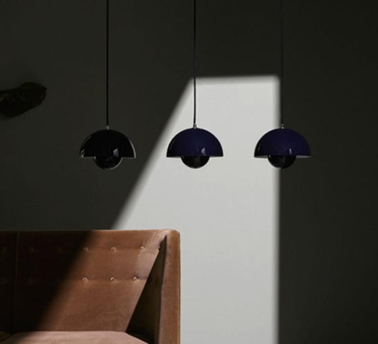 Flowerpot vp1 verne panton andtradition 20705601 luminaire lighting design signed 28729 product