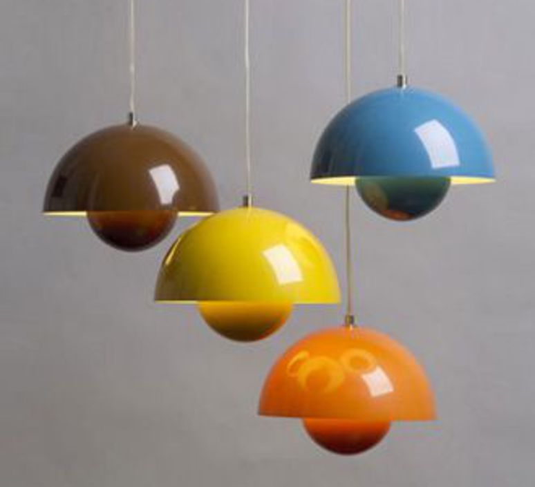 Flowerpot vp1 verner panton andtradition 20702201 luminaire lighting design signed 27114 product