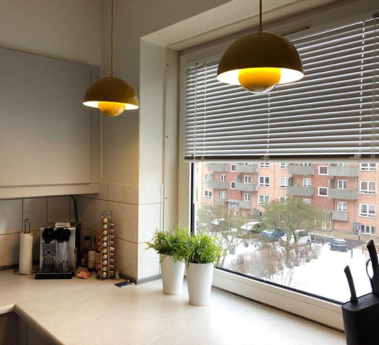 Flowerpot vp1 verner panton andtradition 20702201 luminaire lighting design signed 56928 product