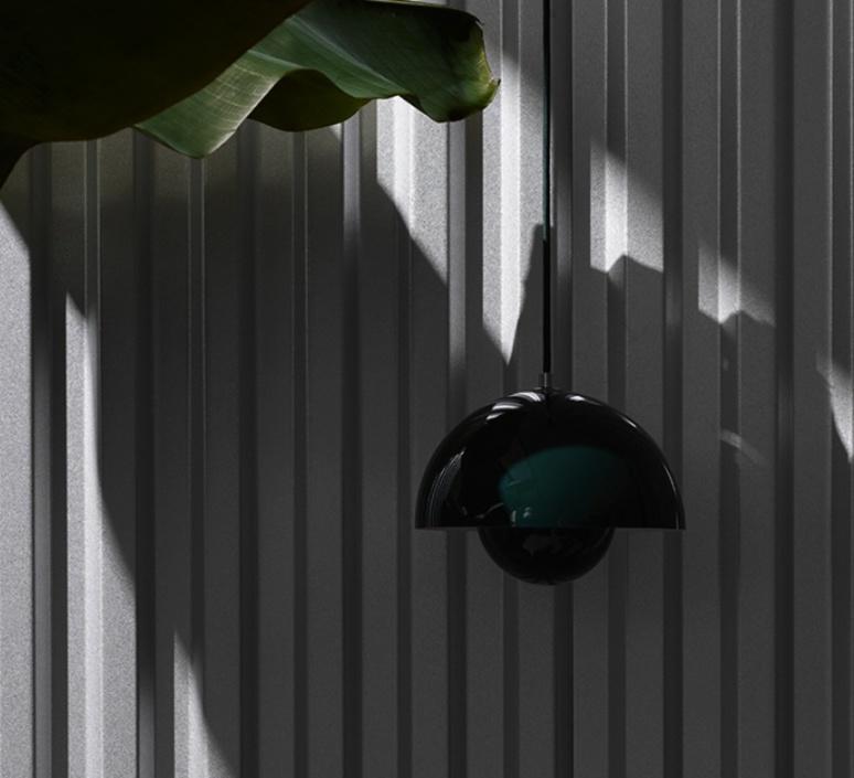 Flowerpot vp1 verne panton andtradition 20705001 luminaire lighting design signed 28732 product