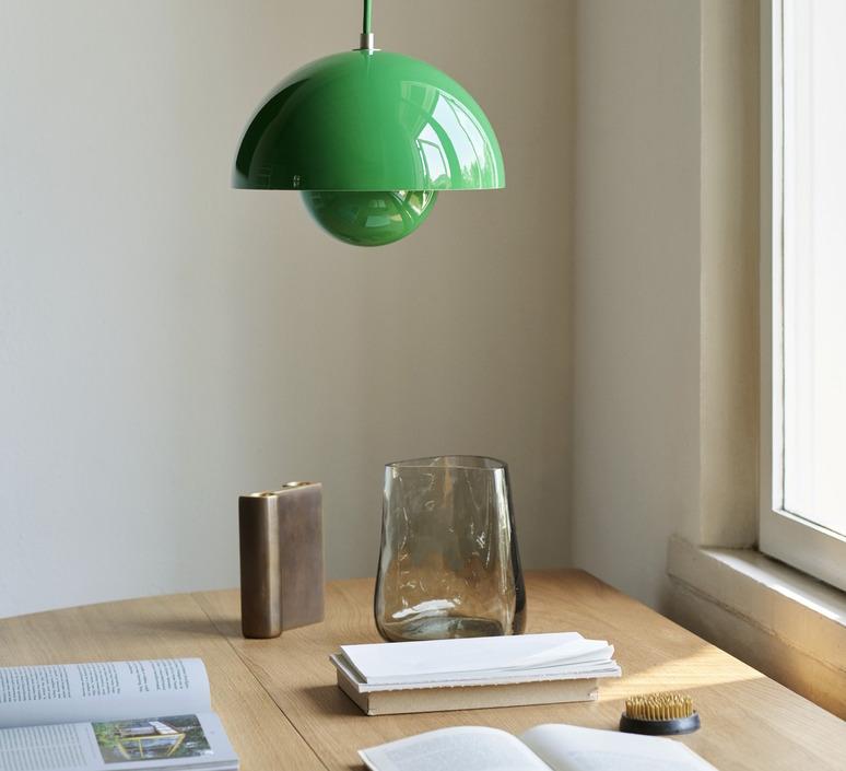 Flowerpot vp1 verner panton suspension pendant light  andtradition 20709201  design signed nedgis 126845 product