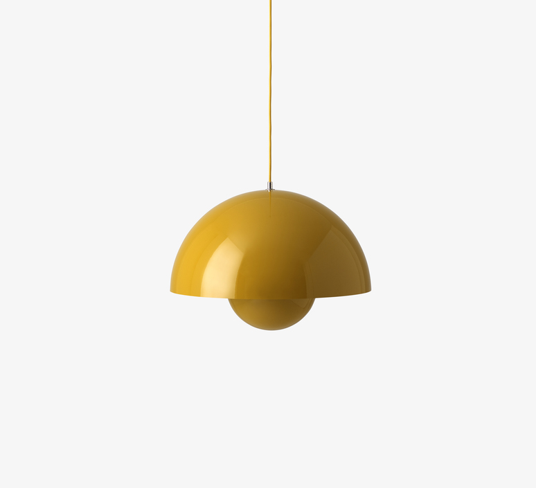 Flowerpot vp2 verner panton suspension pendant light  andtradition 20762201  design signed 56823 product