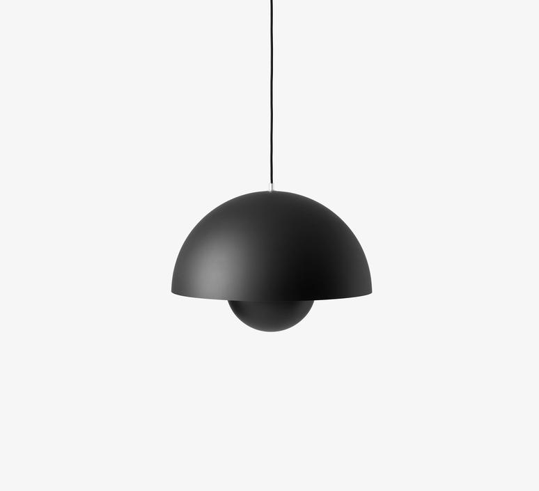 Flowerpot vp2 verner panton suspension pendant light  andtradition 207695  design signed 56846 product