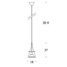 Flute 1 franco raggi fontanaarte 3337 luminaire lighting design signed 20140 thumb